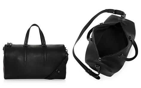 Salvatore Ferragamo Firenze Pebbled Leather Matte Duffel Bag - Bloomingdale's_2