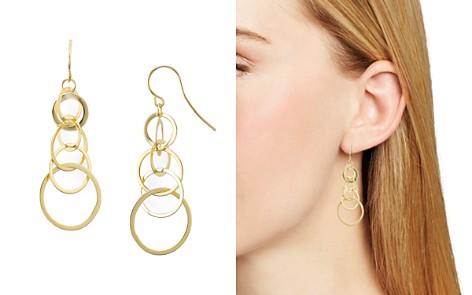 AQUA Sterling Silver Linked Circle Drop Earrings - 100% Exclusive - Bloomingdale's_2