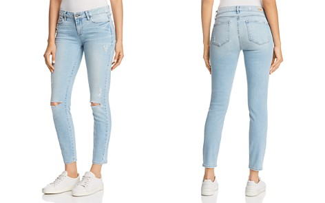 PAIGE Verdugo Ankle Skinny Jeans in Serrano Destructed - Bloomingdale's_2