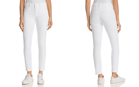 Hoxton Ankle Skinny Jeans in Crisp White - Bloomingdale's_2