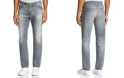 AG Graduate Slim Straight Fit Jeans in 13 Years Fortress - Bloomingdale's_2