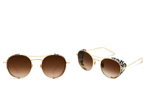 Krewe Women's Orleans Blinker 24K Gradient Round Sunglasses, 50mm - Bloomingdale's_2