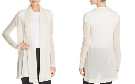 Theory Open-Front Cashmere Cardigan - Bloomingdale's_2