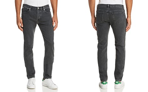 A.P.C. Petit New Standard Skinny Fit Jeans in Washed Black - Bloomingdale's_2