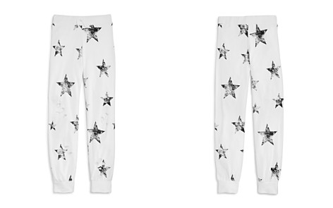Flowers by Zoe Girls' Distressed Star-Print Jogger Pants - Little Kid - Bloomingdale's_2