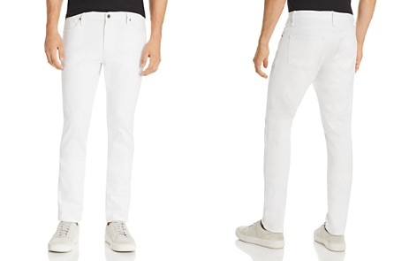 Double Eleven Slim Fit Jeans in White - Bloomingdale's_2