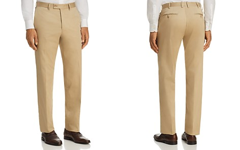 The Men's Store at Bloomingdale's Regular Fit Stretch Dress Pants - 100% Exclusive_2