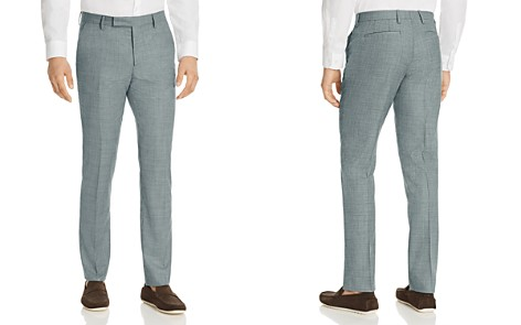 Paul Smith Micro Check Slim Fit Suit Pants - Bloomingdale's_2