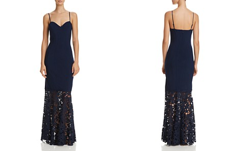 Decode 1.8 Illusion Lace Gown - Bloomingdale's_2