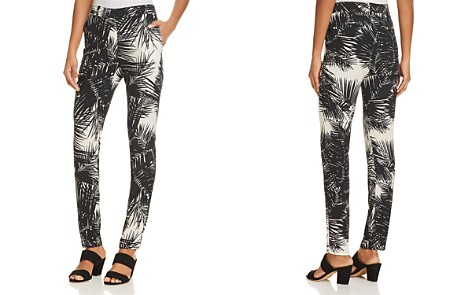 Theory Printed Silk Boyfriend Pants - Bloomingdale's_2