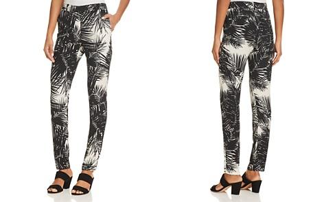 Theory Printed Silk Boyfriend Pants - Bloomingdale's_2