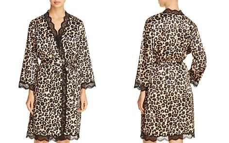 Dita Von Teese Starlift Satin Kimono Robe - Bloomingdale's_2