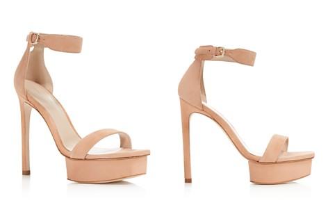 Stuart Weitzman Women's Backupplat Suede Platform High-Heel Sandals - Bloomingdale's_2