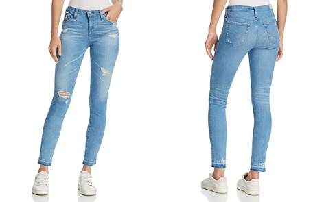 AG The Legging Vintage Ankle Jeans in 20 Years Freshwater Destructed - Bloomingdale's_2