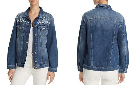 Mavi Karla Embellished Denim Jacket - Bloomingdale's_2
