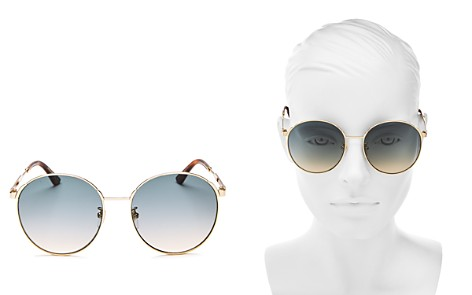 Gucci Round Sunglasses, 58mm - Bloomingdale's_2