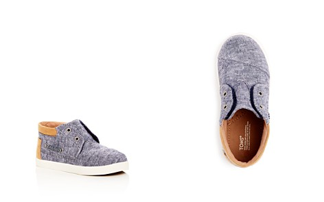 TOMS Boys' Bimini Chambray High Top Sneakers - Toddler, Little Kid, Big Kid - Bloomingdale's_2