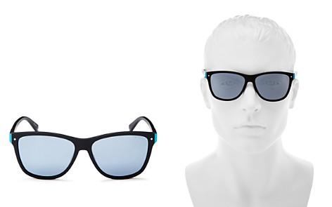 Polaroid Mirrored Square Sunglasses, 56mm - Bloomingdale's_2