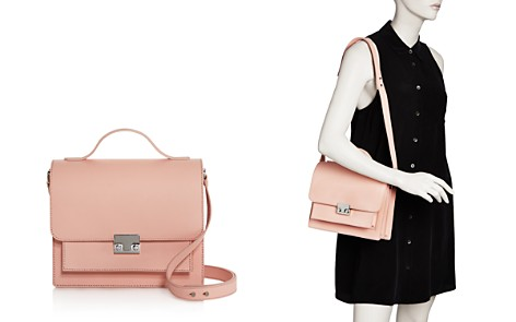 Loeffler Randall Minimal Rider Saffiano Leather Satchel - 100% Exclusive - Bloomingdale's_2