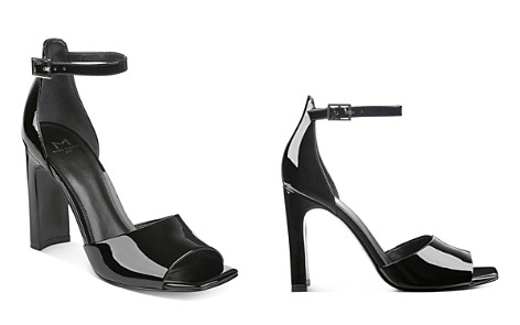 Marc Fisher LTD. Harlin Patent Leather Ankle Strap Sandals - Bloomingdale's_2