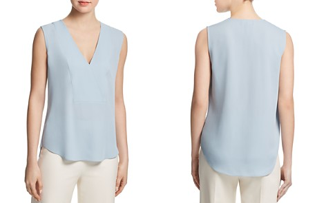 Theory Silk Crossover Top - Bloomingdale's_2