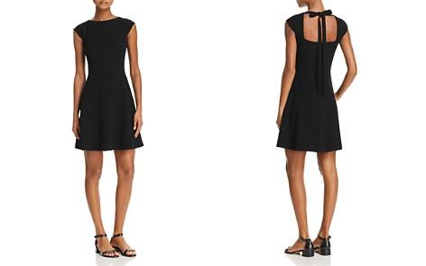 Theory Cap-Sleeve Tie Back Dress - Bloomingdale's_2