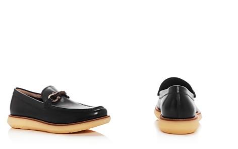 Salvatore Ferragamo Men's Carmine Leather Moc Toe Loafers - Bloomingdale's_2