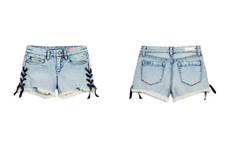 BLANKNYC Girls' Lace-Up Cutoff Shorts - Big Kid - Bloomingdale's_2