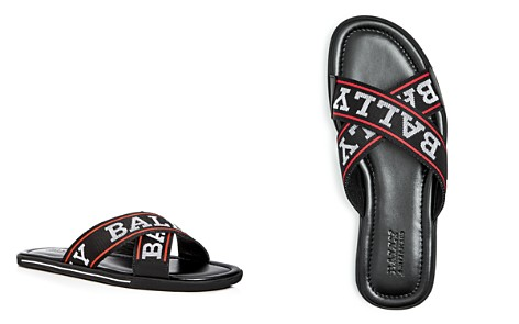 Bally Men's Bonks Logo Slide Sandals - Bloomingdale's_2