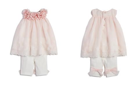 Miniclasix Girls' Lace Rosette Top & Leggings Set - Baby - Bloomingdale's_2