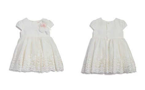 Miniclasix Girls' Lace Dress with Rosettes - Baby - Bloomingdale's_2