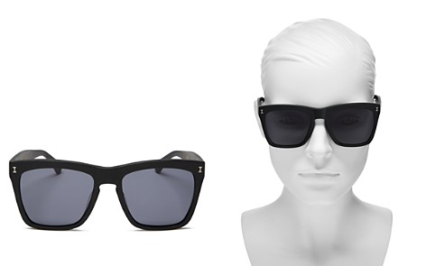Illesteva Los Feliz Square Sunglasses, 55mm - Bloomingdale's_2