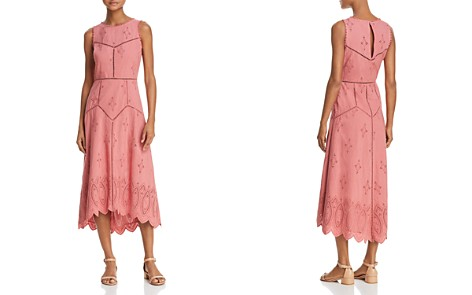 Joie Halone Eyelet Midi Dress - Bloomingdale's_2
