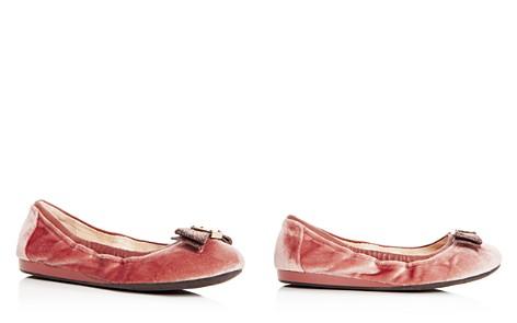 Cole Haan Women's Tali Velvet Bow Ballet Flats - Bloomingdale's_2