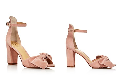 VINCE CAMUTO Women's Carrelen Suede Bow Block Heel Sandals - 100% Exclusive - Bloomingdale's_2