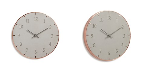 Umbra Piatto Concrete Wall Clock - Bloomingdale's_2