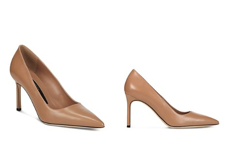 Via Spiga Women's Nikole Leather Pointed Toe High-Heel Pumps - Bloomingdale's_2