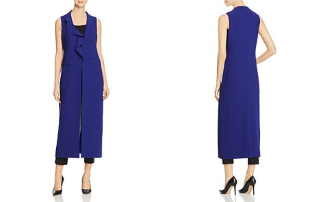 Elie Tahari Destiny Longline Vest - 100% Exclusive - Bloomingdale's_2