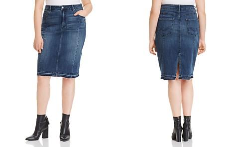 Rebel Wilson x Angels Denim Pencil Skirt - Bloomingdale's_2
