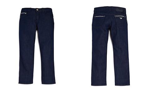 Armani Junior Boys' Dark-Wash Straight-Leg Jeans - Little Kid, Big Kid - Bloomingdale's_2