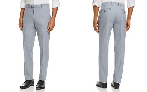 Brooks Brothers Clark Plaid Regular Fit Trousers - Bloomingdale's_2