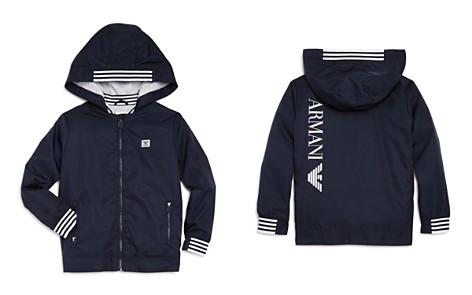 Armani Junior Boys' Contrast Stripe Windbreaker - Little Kid, Big Kid - Bloomingdale's_2