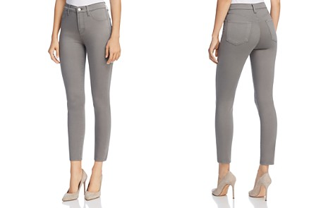 J Brand Alana Sateen Jeans in Zinc - 100% Exclusive - Bloomingdale's_2