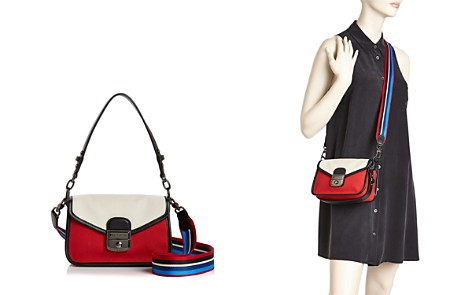 Longchamp Mademoiselle Toile Small Leather Crossbody - Bloomingdale's_2