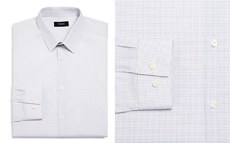 Theory Dot Slim Fit Dress Shirt - Bloomingdale's_2