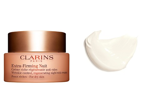 Clarins Extra-Firming Wrinkle Control Regenerating Night Cream for Dry Skin - Bloomingdale's_2