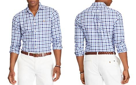 Polo Ralph Lauren Plaid Cotton Classic Fit Button-Down Shirt - Bloomingdale's_2