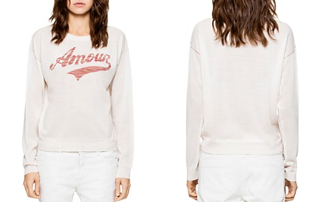 Zadig & Voltaire Kansas Amour Merino-Wool Sweater - Bloomingdale's_2