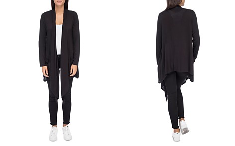 B Collection by Bobeau Pennie Draped Open-Front Cardigan - Bloomingdale's_2