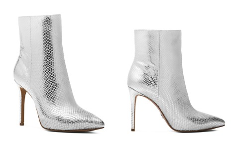 MICHAEL Michael Kors Women's Leona Embossed Leather High-Heel Booties - Bloomingdale's_2